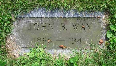 WAY, JOHN B. - Clark County, Ohio   JOHN B. WAY - Ohio Gravestone Photos
