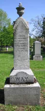 WAY, SUSAN - Clark County, Ohio   SUSAN WAY - Ohio Gravestone Photos