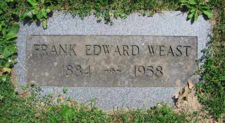 WEAST, FRANK EDWARD - Clark County, Ohio | FRANK EDWARD WEAST - Ohio Gravestone Photos