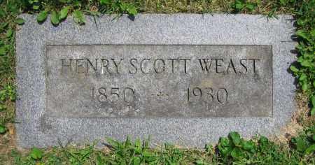 WEAST, HENRY SCOTT - Clark County, Ohio | HENRY SCOTT WEAST - Ohio Gravestone Photos