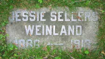 WEINLAND, JESSIE - Clark County, Ohio | JESSIE WEINLAND - Ohio Gravestone Photos