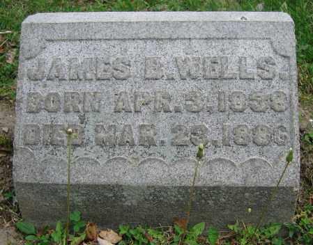 WELLS, JAMES B. - Clark County, Ohio | JAMES B. WELLS - Ohio Gravestone Photos