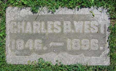 WEST, CHARLES B. - Clark County, Ohio | CHARLES B. WEST - Ohio Gravestone Photos