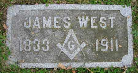 WEST, JAMES - Clark County, Ohio   JAMES WEST - Ohio Gravestone Photos