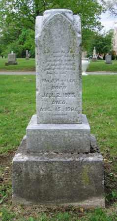 WHEELER, WM. J. - Clark County, Ohio | WM. J. WHEELER - Ohio Gravestone Photos