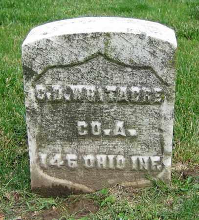 WHITACRE, C.D. - Clark County, Ohio | C.D. WHITACRE - Ohio Gravestone Photos