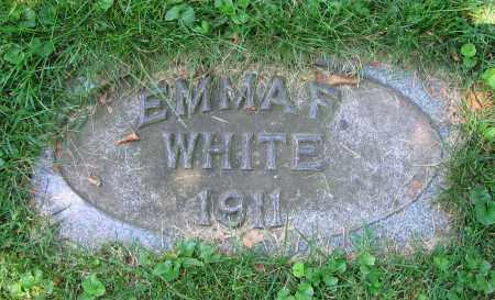 WHITE, EMMA F. - Clark County, Ohio   EMMA F. WHITE - Ohio Gravestone Photos