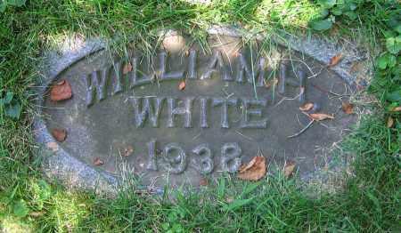 WHITE, WILLIAM H. - Clark County, Ohio | WILLIAM H. WHITE - Ohio Gravestone Photos