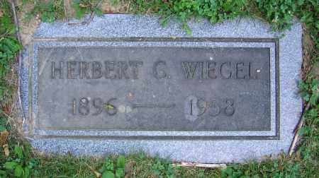 WIEGEL, HERBERT C. - Clark County, Ohio | HERBERT C. WIEGEL - Ohio Gravestone Photos