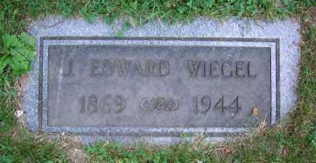 WIEGEL, J. EDWARD - Clark County, Ohio | J. EDWARD WIEGEL - Ohio Gravestone Photos