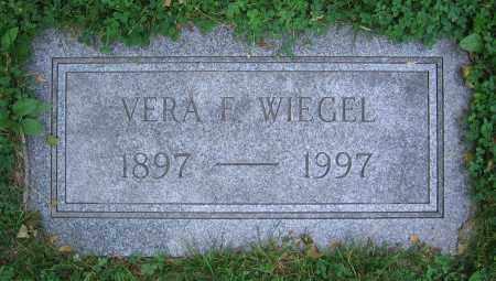 WIEGEL, VERA F. - Clark County, Ohio | VERA F. WIEGEL - Ohio Gravestone Photos