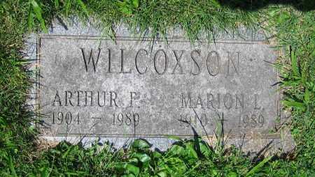 WILCOXSON, MARION L. - Clark County, Ohio | MARION L. WILCOXSON - Ohio Gravestone Photos