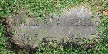 WILKERSON, CHARLES M. - Clark County, Ohio | CHARLES M. WILKERSON - Ohio Gravestone Photos