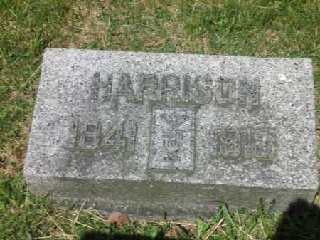 WILSON, HARRISON - Clark County, Ohio   HARRISON WILSON - Ohio Gravestone Photos
