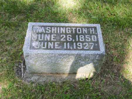 WILSON, WASHINGTON H. - Clark County, Ohio | WASHINGTON H. WILSON - Ohio Gravestone Photos