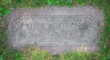 WINGERT, ELIZA A. - Clark County, Ohio | ELIZA A. WINGERT - Ohio Gravestone Photos