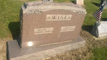 WISE, MINNIE A. - Clark County, Ohio | MINNIE A. WISE - Ohio Gravestone Photos