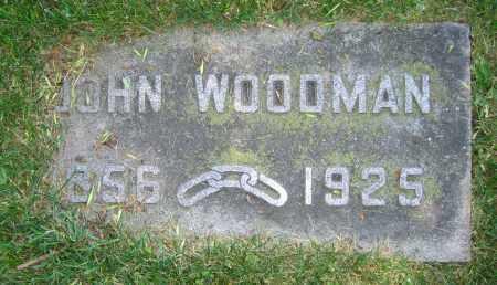 WOODMAN, JOHN - Clark County, Ohio | JOHN WOODMAN - Ohio Gravestone Photos