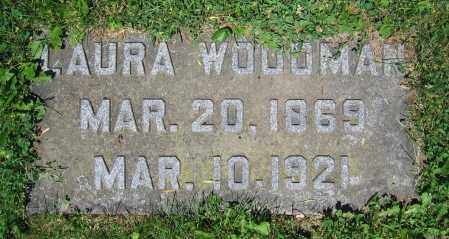 WOODMAN, LAURA - Clark County, Ohio | LAURA WOODMAN - Ohio Gravestone Photos