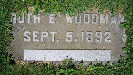 WOODMAN, RUTH E. - Clark County, Ohio | RUTH E. WOODMAN - Ohio Gravestone Photos