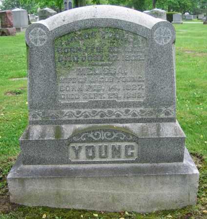 YOUNG, MELISSA - Clark County, Ohio | MELISSA YOUNG - Ohio Gravestone Photos