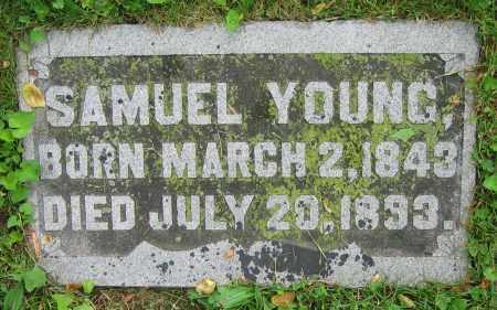 YOUNG, SAMUEL - Clark County, Ohio   SAMUEL YOUNG - Ohio Gravestone Photos