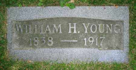 YOUNG, WILLIAM H. - Clark County, Ohio | WILLIAM H. YOUNG - Ohio Gravestone Photos