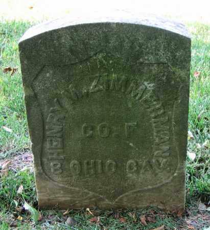 ZIMMERMAN, HENRY M. - Clark County, Ohio | HENRY M. ZIMMERMAN - Ohio Gravestone Photos