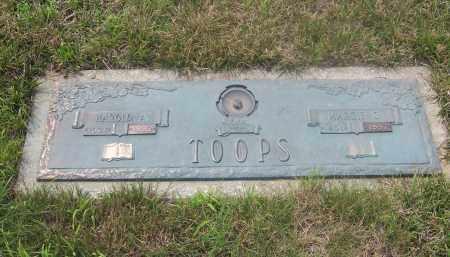 TOOPS, MARGIE - Clark County, Ohio | MARGIE TOOPS - Ohio Gravestone Photos