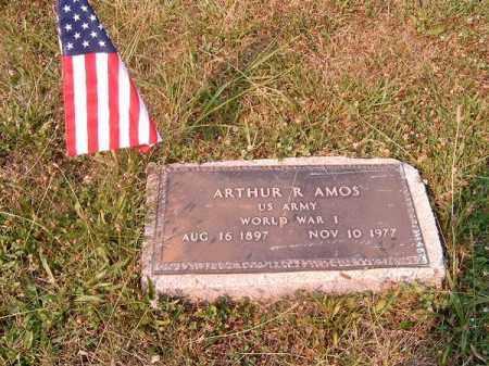 AMOS, ARTHUR  R - Clermont County, Ohio | ARTHUR  R AMOS - Ohio Gravestone Photos