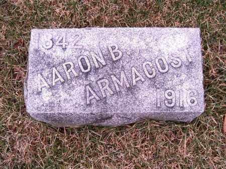 ARMACOST, AARON  B - Clermont County, Ohio | AARON  B ARMACOST - Ohio Gravestone Photos