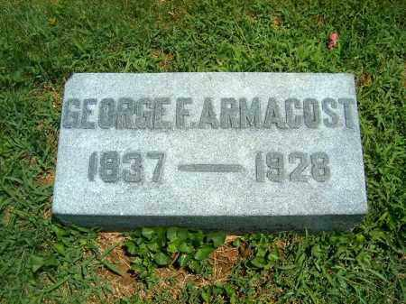 ARMACOST, GEORGE  F - Clermont County, Ohio | GEORGE  F ARMACOST - Ohio Gravestone Photos