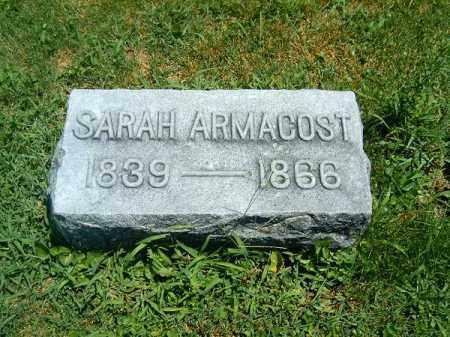 ARMACOST, SARAH - Clermont County, Ohio | SARAH ARMACOST - Ohio Gravestone Photos