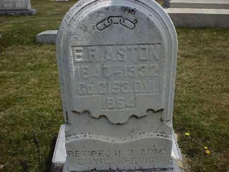 ASTON, EDGAR  R - Clermont County, Ohio   EDGAR  R ASTON - Ohio Gravestone Photos