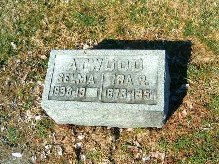 ATWOOD, SELMA - Clermont County, Ohio   SELMA ATWOOD - Ohio Gravestone Photos