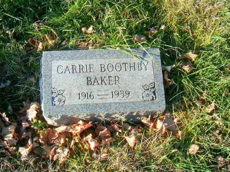 BAKER, CARRIE - Clermont County, Ohio | CARRIE BAKER - Ohio Gravestone Photos