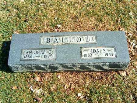 BALLOU, ANDREW  C - Clermont County, Ohio | ANDREW  C BALLOU - Ohio Gravestone Photos