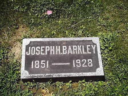 BARKLEY, JOSEPH   H - Clermont County, Ohio | JOSEPH   H BARKLEY - Ohio Gravestone Photos