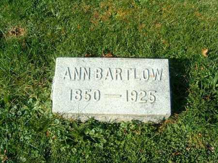 BARTLOW, ANN - Clermont County, Ohio | ANN BARTLOW - Ohio Gravestone Photos