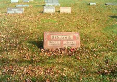 BENJAMIN, JOHN  M - Clermont County, Ohio   JOHN  M BENJAMIN - Ohio Gravestone Photos
