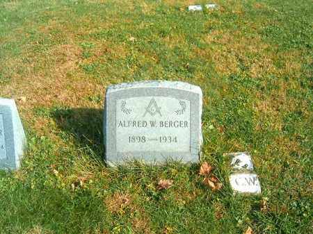 BERGER, ALFRED   W - Clermont County, Ohio | ALFRED   W BERGER - Ohio Gravestone Photos