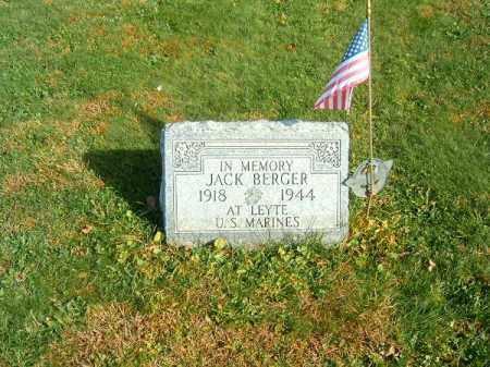BERGER, JACK - Clermont County, Ohio | JACK BERGER - Ohio Gravestone Photos