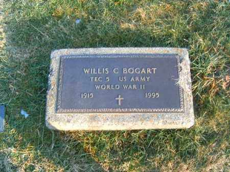 BOGART, WILLIS  C - Clermont County, Ohio | WILLIS  C BOGART - Ohio Gravestone Photos
