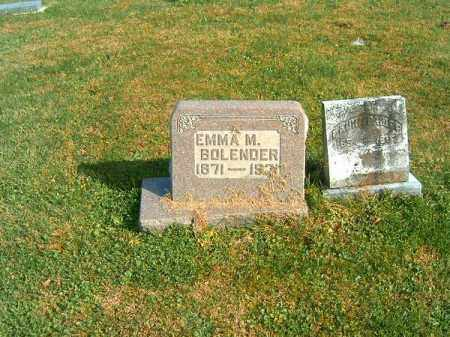 BOLENDER, EMMA  M - Clermont County, Ohio | EMMA  M BOLENDER - Ohio Gravestone Photos