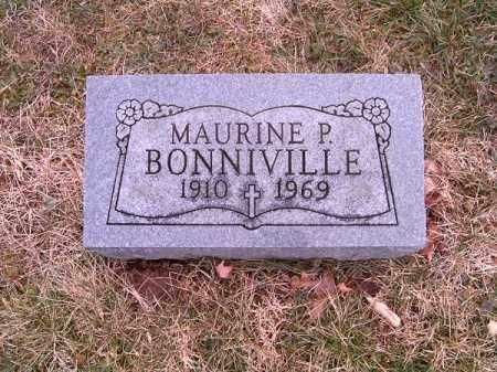 BONNIVILLE, MAURINE  P - Clermont County, Ohio | MAURINE  P BONNIVILLE - Ohio Gravestone Photos