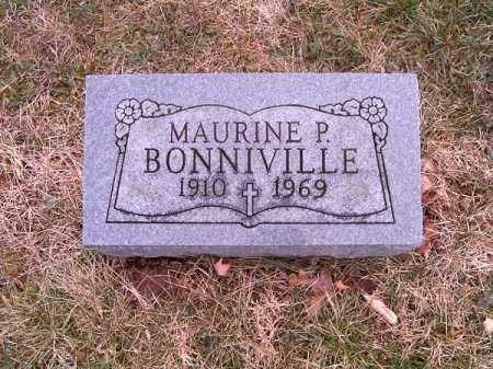 BONNIVILLE, MAURINE  P - Clermont County, Ohio | MAURINE  P BONNIVILLE - Ohio Gravestone Photos