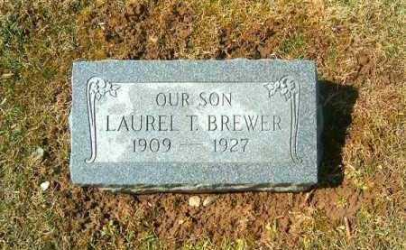 BREWER, LAUREL  T - Clermont County, Ohio | LAUREL  T BREWER - Ohio Gravestone Photos