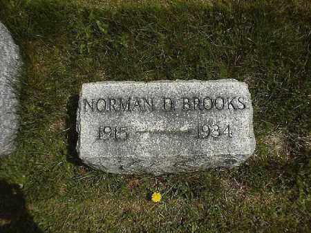 BROOKS, NORMAN  D - Clermont County, Ohio | NORMAN  D BROOKS - Ohio Gravestone Photos