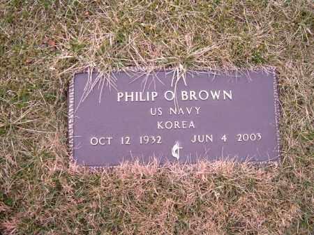 BROWN, PHILIP   O - Clermont County, Ohio | PHILIP   O BROWN - Ohio Gravestone Photos