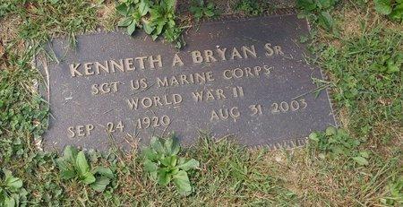 BRYAN SR., KENNETH ALLEN - Clermont County, Ohio   KENNETH ALLEN BRYAN SR. - Ohio Gravestone Photos